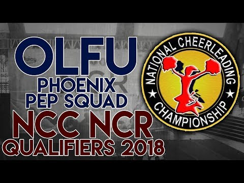 NCC NCR Qualifiers 2018 - Our Lady of Fatima University SENIOR COED CHEER