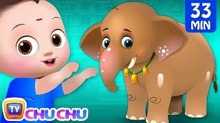 ஆனை ஆனை அழகர் ஆனை (Aanai aanai alagar aanai) COLLECTION - ChuChu TV Tamil Rhymes and Kids Songs