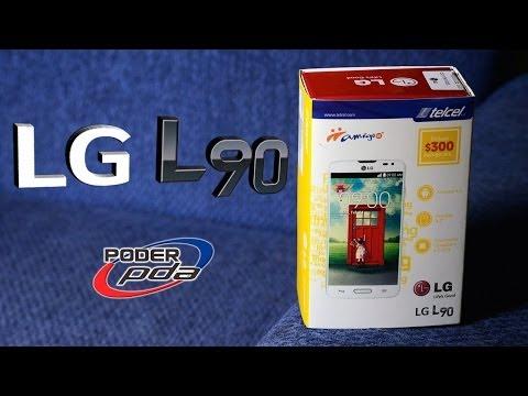 LG L90 con Telcel - Unboxing