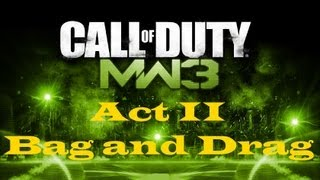 """Call of Duty 8: Modern Warfare 3"", HD walkthrough (Veteran), Act II: Mission 3 - Bag and Drag"