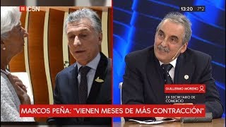 """Entrevista a Guillermo Moreno en """"Nos vemos"""""""