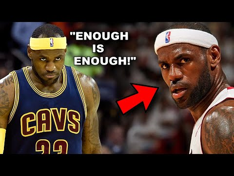 5 Times LeBron James Sought REVENGE!