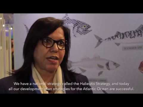 Seafood Expo 2016 - Zakia Driouich Maroc #MedFish4Ever