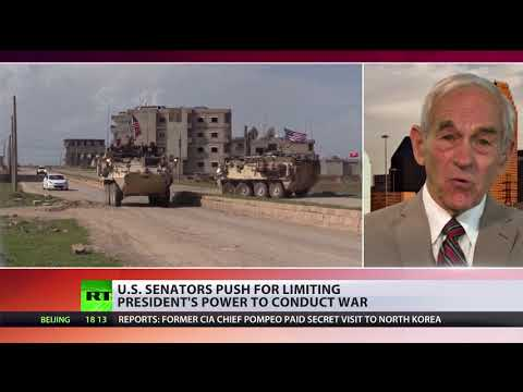 'Won't pass, won't work, likely to make things worse' – Ron Paul on military force limitation