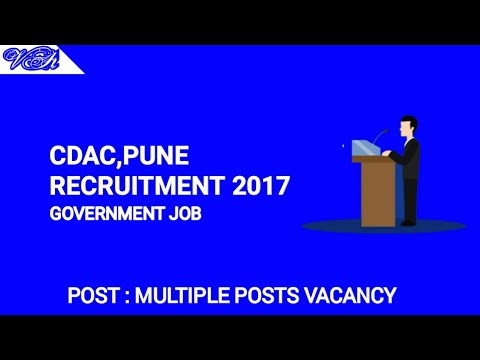 Vacancy in CDAC Pune | GOVERNMENT JOB | EMPLOYMENT NEWS