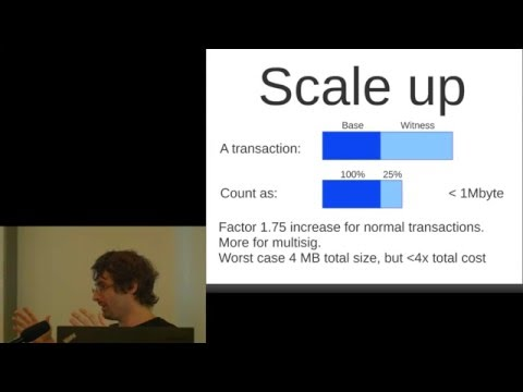 Pieter Wuille: Segregated Witness And Its Impact On Scalability