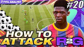 FIFA 21 META ATTACKING TIPS | ROAD TO GLORY #20 | HOW WE ATTACK IN FUT CHAMPS | FUT 21
