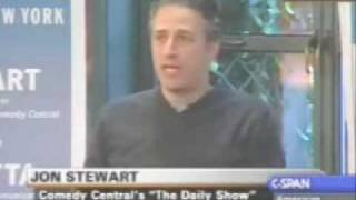 Jon Stewart C-Span Interview Part 6/7