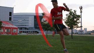 Эффектные способы поднятия мяча. Обучение /  Effective way to lift the ball. Training
