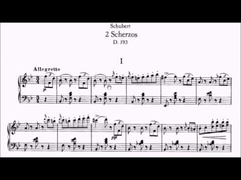 ABRSM Piano 2019-2020 Grade 6 B:3 B3 Schubert Scherzo In Bb D.593 No.1 Sheet Music