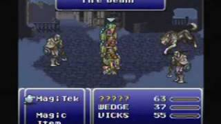 Final Fantasy III (6) - SNES Gameplay