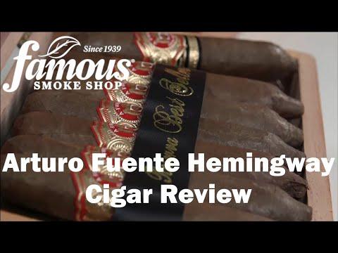 Arturo Fuente Hemingway Cigars Review - Famous Smoke Shop