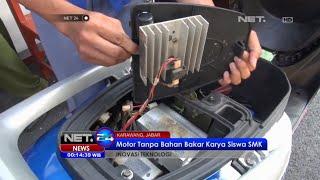 Siswa Karawang ciptakan motor tanpa BBM - NET24