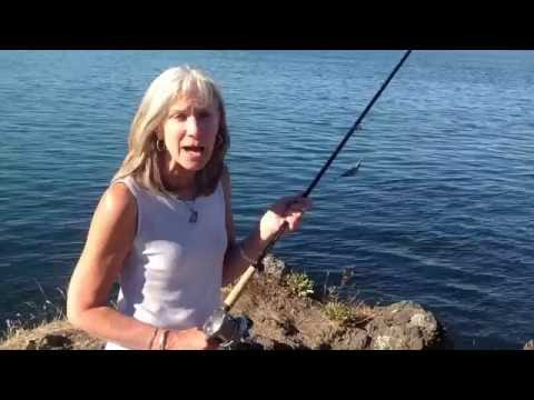 San Juan Island  life style tips on salmon fishing