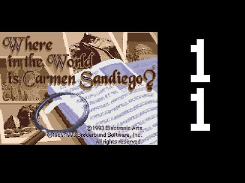 Let's Play Where In The World Is Carmen Sandiego? (SNES) - Case 11