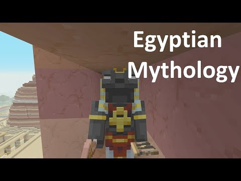 Minecraft - Mesa Mining - Egyptian Mythology