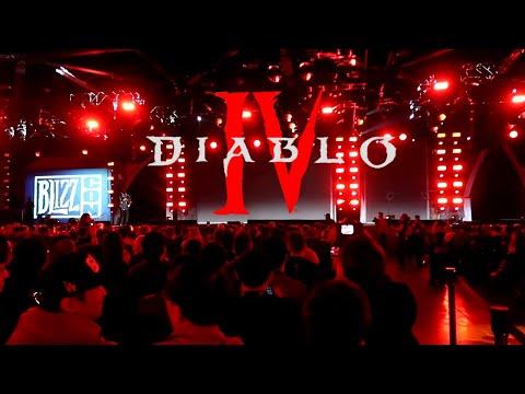 Blizzcon 2019 Reacts to DIABLO 4 Announcement!