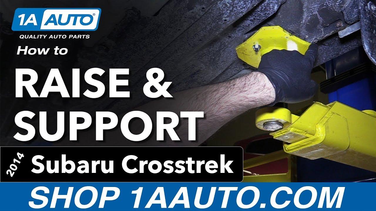 How To Raise And Support 14 17 Subaru Crosstrek Youtube