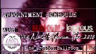 HAKEN / LEPROUS / BENT KNEE - North American Tour Trailer