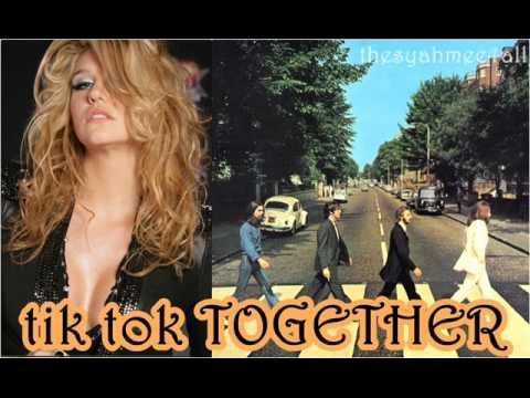 Ke$ha with The Beatles Mashup - Tik Tok Together