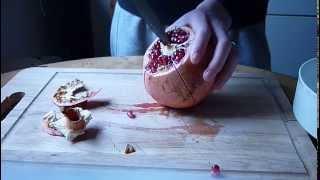granatapfel öffnen galileo