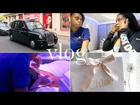 LONDON VLOG | Spa Facial & Buying my first Chloé Designer Bag | Shirley B. Eniang