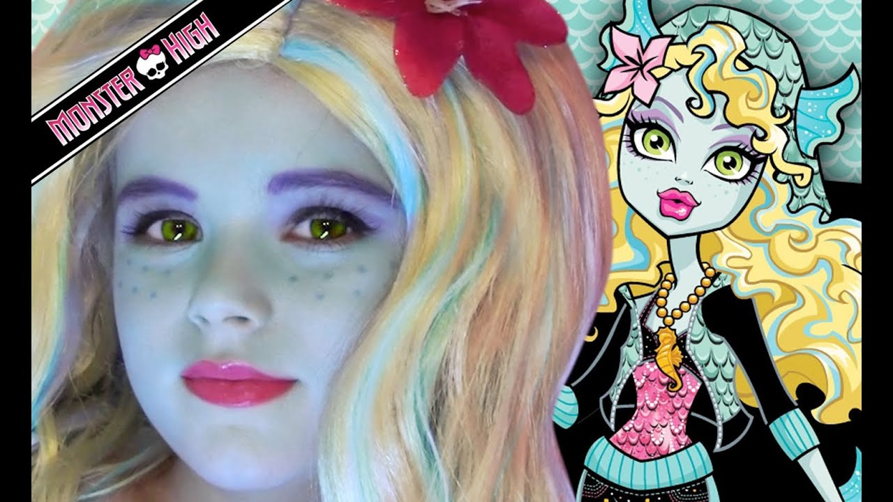 Lagoona blue monster high doll costume makeup tutorial for lagoona blue monster high doll costume makeup tutorial for halloween youtube baditri Gallery