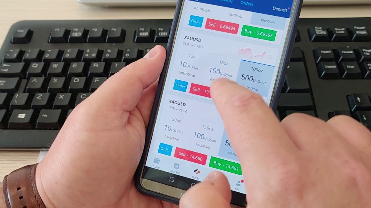 XTrend trading App - Trade forex with $50 - YouTube