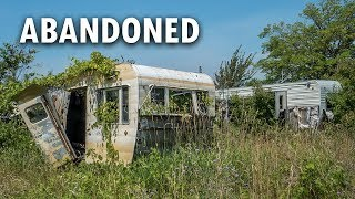 Abandoned Trailer Park and Campground | SONNY'S BEACH VACATION RESORT