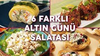 Tarifini Kimseye Vermek İstemeyeceğiniz 6 Farklı Altın Günü Salatası - Salata Tarifleri | Yemek.com.mp3