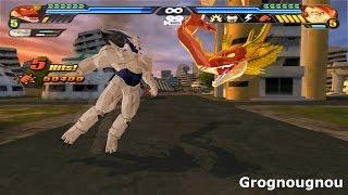 Fusion Syn Shenron and Red Shenron VS Majin Gogeta SSJ4 (Dragonball Z Budokai Tenkaichi 3 mod)