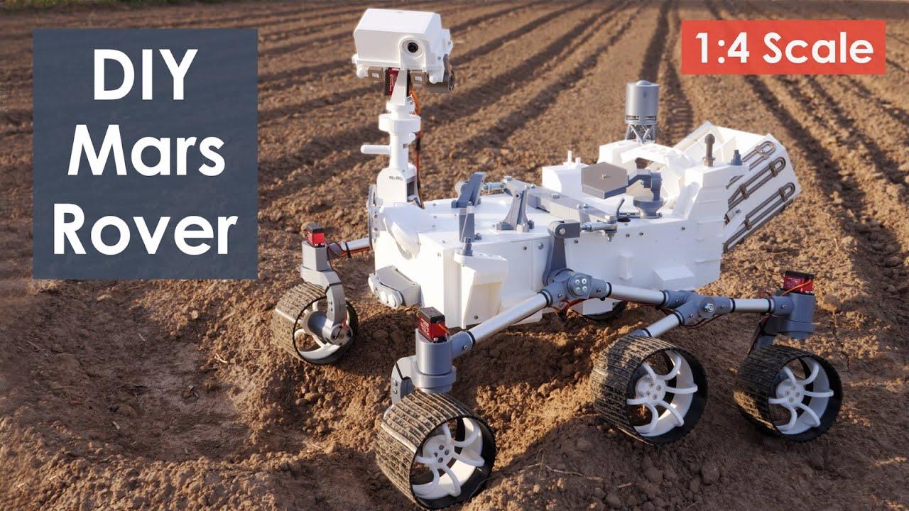 How I Built a Mars Perseverance Rover Replica