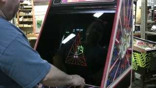 #229 Atari TEMPEST Color Vector Arcade Video Game and a SECRET! TNT Amusements