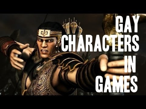 Gay characters in video games