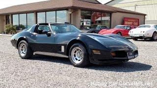 1980 Black Black Corvette Hot Rod 350Hp