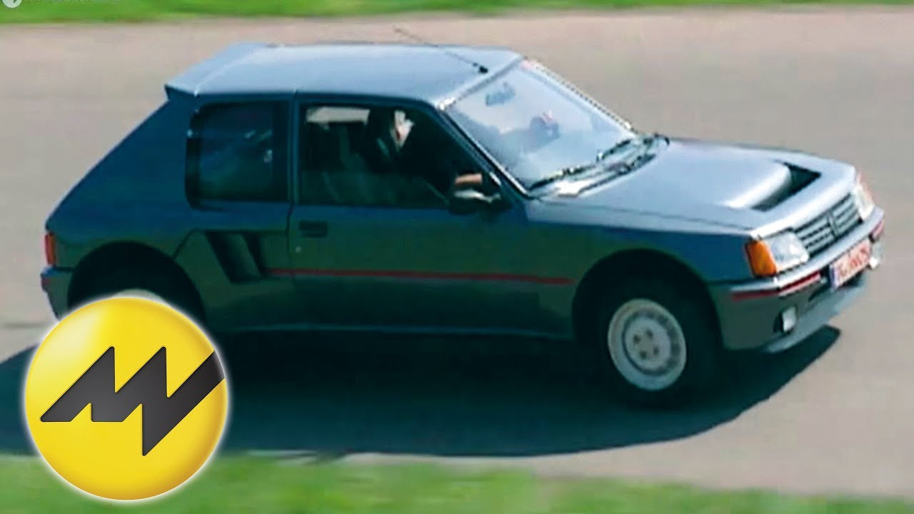 peugeot 205 turbo 16 (t16) | classic ride | motorvision - youtube