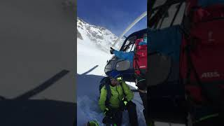 Heliskiing in Alagna, Italy (April 2019)