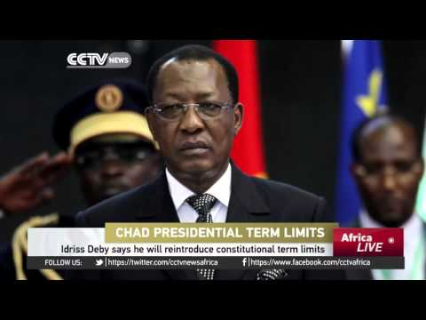 Chad President's Idriss Deby says he will reintroduce constitutional term limits