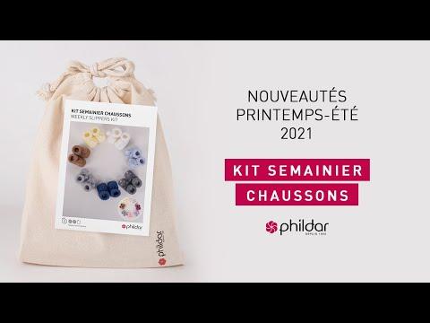 DÉCOUVREZ NOS NOUVEAUTÉS EN VIDÉO - Kit Semainier Chaussons