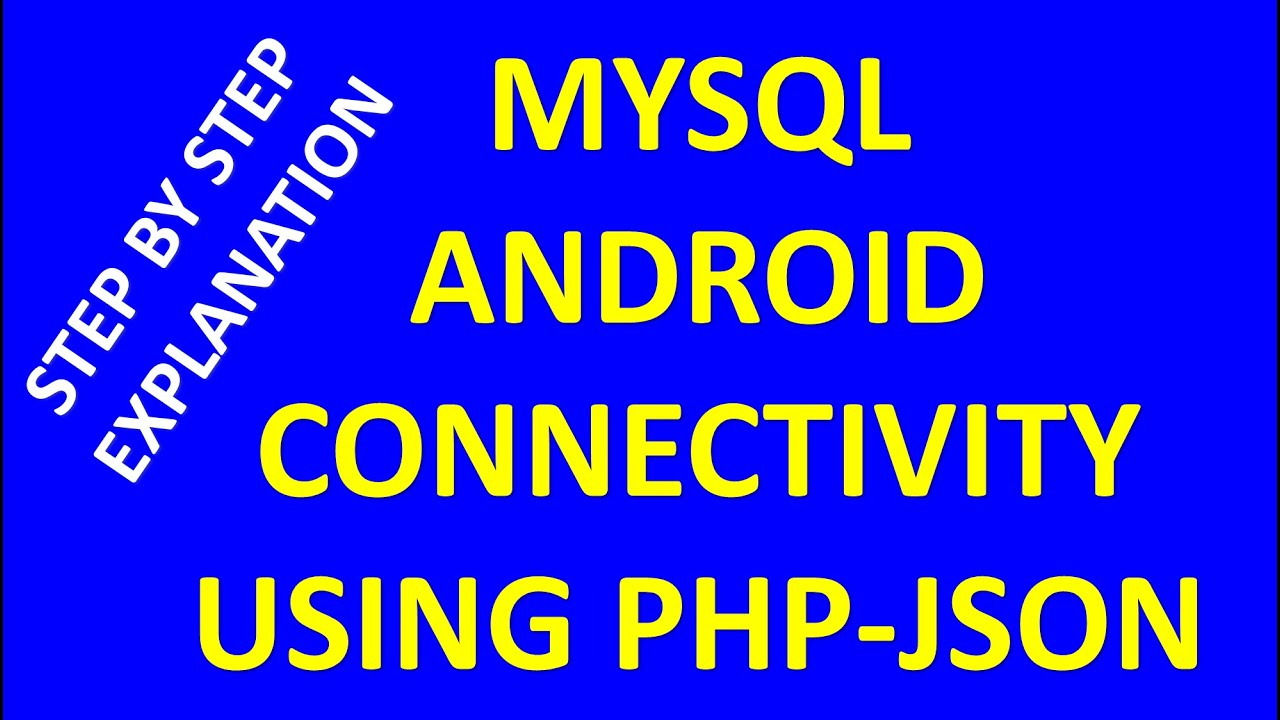 how to connect php to mysql