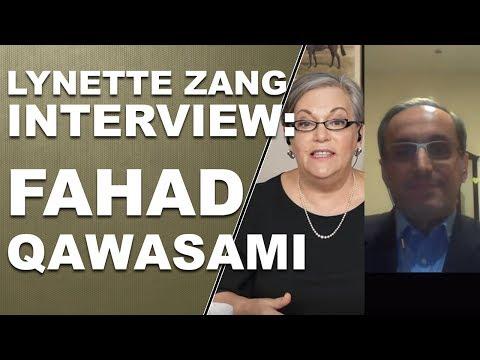 Lynette Zang interviews Fahad Qawasami