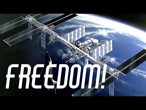 Before the ISS There Was Space Station Freedom