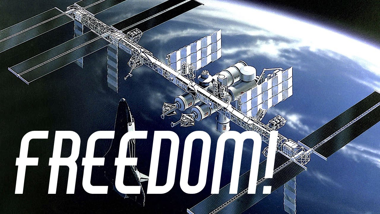 Before the ISS There Was Space Station Freedom - YouTube