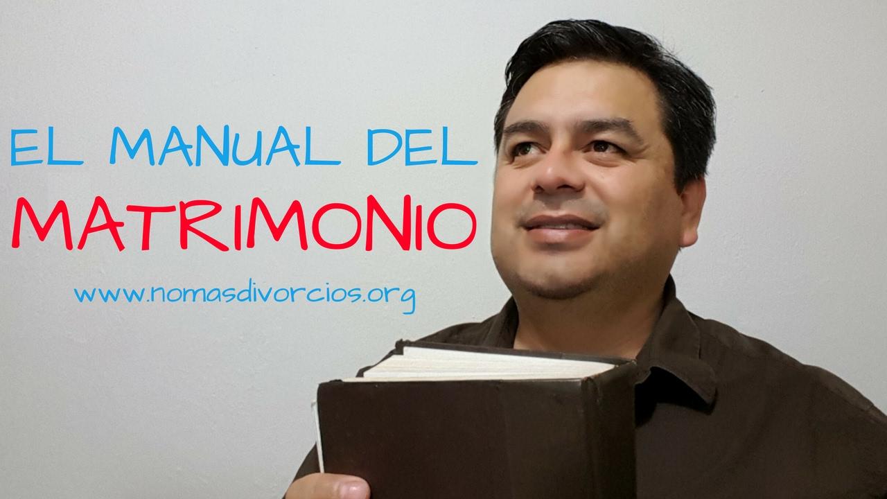 Restaurar Matrimonio Biblia : Restauración matrimonial manual del matrimonio la biblia youtube