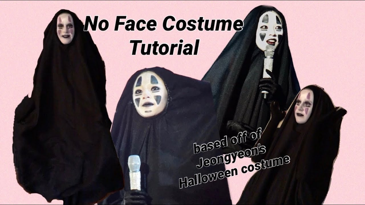 No Face Costume Tutorial Inspired by Jeongyeon's ICONIC Costume