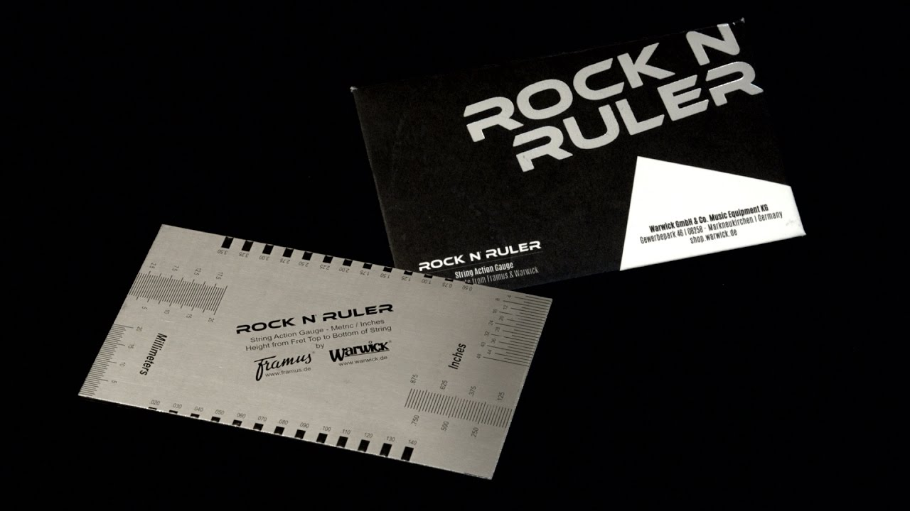 Rockcare rock n ruler string action gauge youtube youtube premium colourmoves