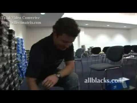 NZ AllBlacks Dan Carter gets new adidas kit each year