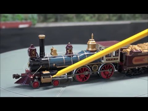 Review Bachmann HO American 4-4-0 W/ Sound PLUS Golden Spike Display Project