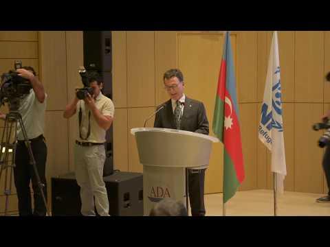 Speech of UNHCR Representative in Azerbaijan Furio De Angelis in ADA