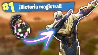 RETO BOOGIE BOMB CONTRA THANOS! Fortnite Battle Royale